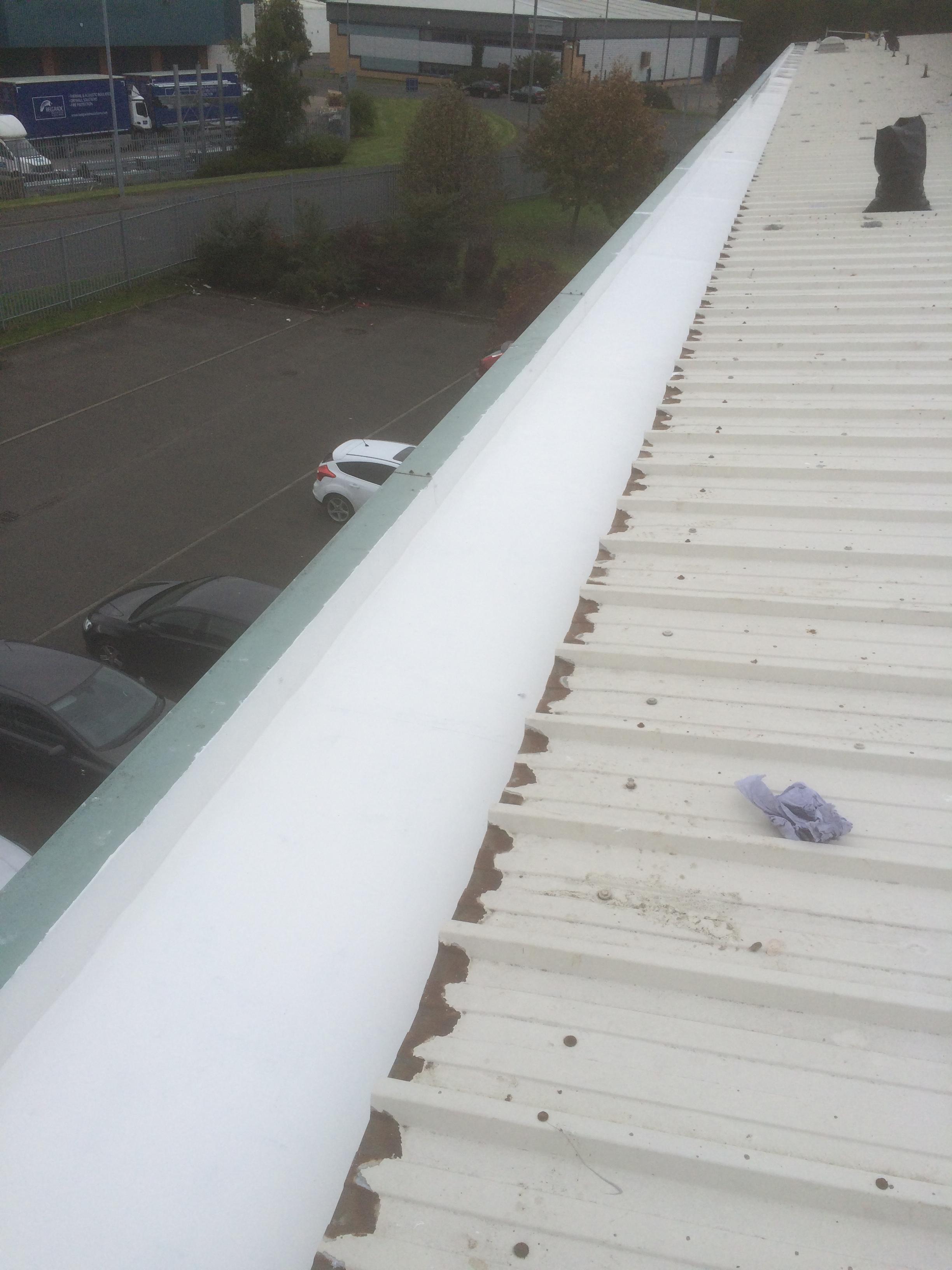 box gutter repair after 1