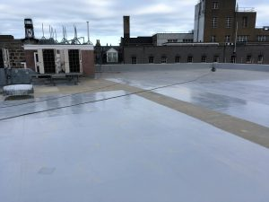 Polyurethane Liquid Waterproofing Membrane and Commercial Roofs