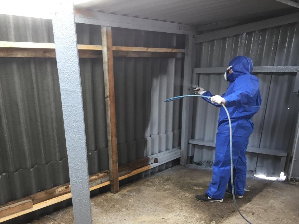 asbestos roof repair 3