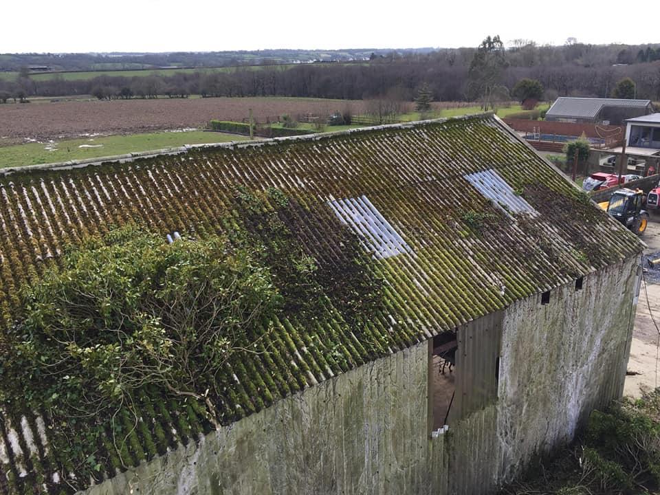 asbestos roof repair 1