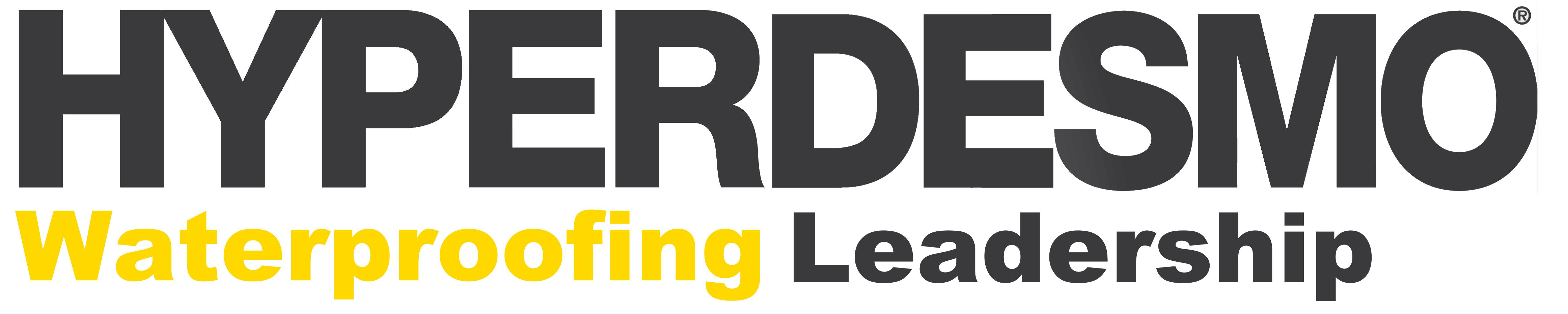Hyperdesmo logo + waterproofing